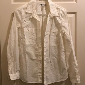 Madewell double-pocketed button-up